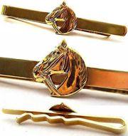 Krawatten Nadel mit Motiv Pferdekopf