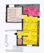2 Zimmer-Wohnung im Zentrum von