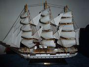 Modell-Segelschiff Hamburg