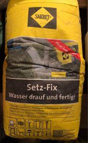 Setz-Fix Schnell-Montage-Beton 25 kg