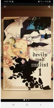 devils and realist Manga 1-13