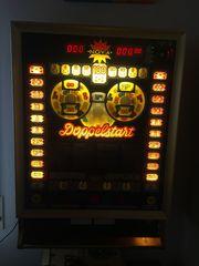 Geldspielautomat Nova Doppelstart 80er Jahre