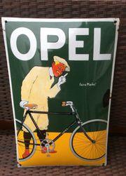 Emailschild Opel Feine Marke