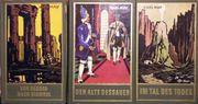 Drei antiquarische Karl-May-Bücher