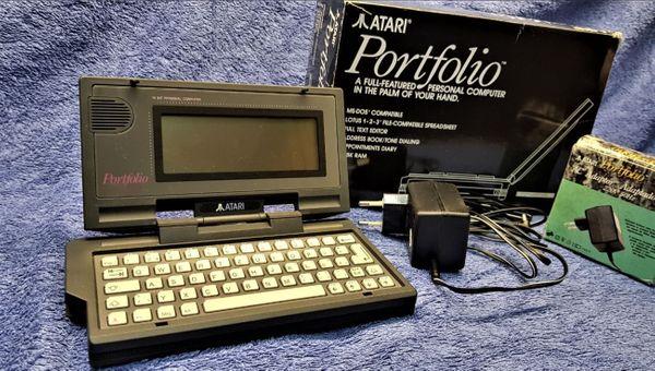 PC Atari Portfolio Home PC
