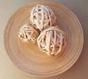 Dekoteller 30 cm aus Holz