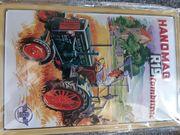 Nostalgie Blechschild Hanomag R 19