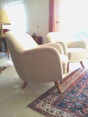 Vintage - Couchgarnitur - 2 Sessel und 1