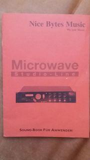 Microwave Studio Line Sound Book