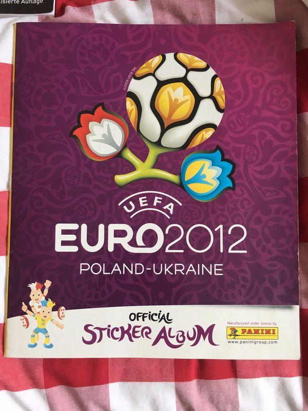 Sticker-Album EURO 2012