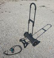 einfache Transport-Karre ohne Tasche geeignet