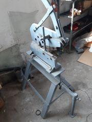 Alte Metallschere Metallschneidmaschine zu verkauften