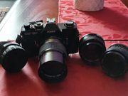 Spiegelreflexkamera an Sammler günstig zu