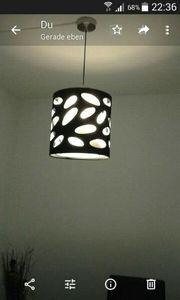 Verkaufe hänge Lampe