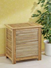 Wäschebox Sauna aus Walnussholz NEU