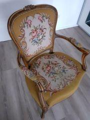 Chippendale Gobelin Sessel
