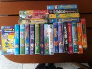 Walt Disney Video-Kassetten 15 Stück
