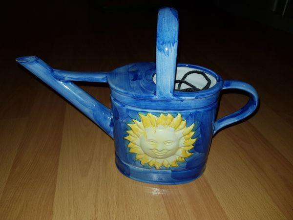 Deko Gieskanne aus Porzellan zu verkaufen