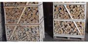 Wir Verkaufen Brennholz trockens Eiche