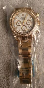 Damen Uhr Rolex gold