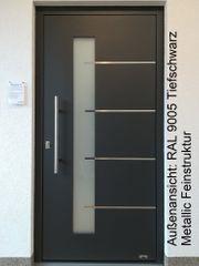 Aluminium-Haustür Ausstellungsstück Nr 17