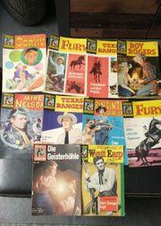 10 Comic-Hefte Fernsehabenteuer aus den