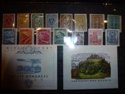 Sammlung 53 postfrischer österreichischer Briefmarken
