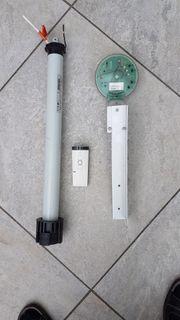 Markisen-Funkmotor mit Sensor und Fernbedienung