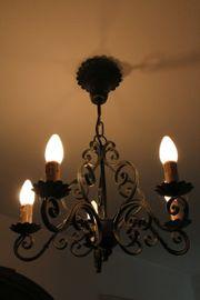 Metall Deckenlampe mit 5 Leuchtelementen
