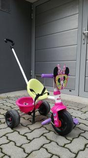 Minnie Mouse Dreirad mit Schiebestange