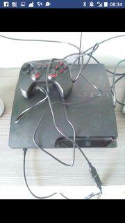 Playstation 3 mit 3 spielen