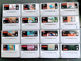 Nintendo, Gerät & Spiele - SNES Super Nintendo Spiele