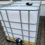 1000 Liter IBC Tank Wassertank