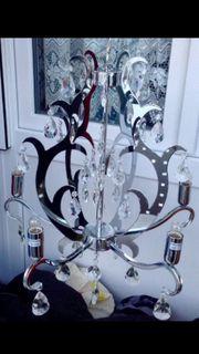 Cristal Lampe 5 Armig