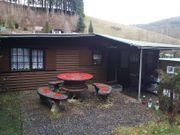 Campingplatz mit Mobilheim