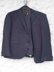 Neuwertiger dunkelblauer Anzug Größe 102