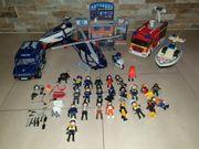 Playmobil Feuerwehr Polizei Mega Set