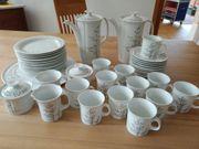 Kaffee Tee - Geschirr 43-teilig für