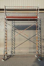 Rollgerüst 8 meter Arbeitshöhe zu