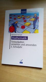 Mathematik-Textaufgabenverstehen und anwenden 3 Schuljahr