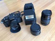 Spiegelreflexkamera-Set Canon F1 NEU