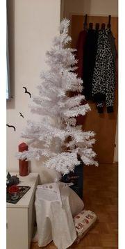 weisser weihnatsbaum