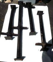 Baustützen - Stahlrohrstützen - Sprieße - 4x gut