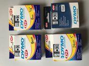 4 Stück Dymo Labelkassetten