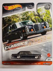 Hot Wheels Premium 72 Mercedes