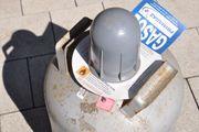Schwedische Gasflasche P11