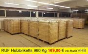 960 Kg Rund Holzbriketts BUCHE -