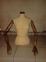 Schneiderpuppe Arme aus Holz