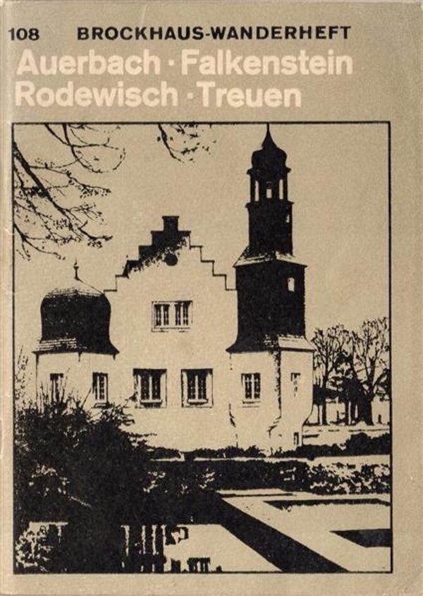 DDR Brockhaus-Wanderheft Auerbach Falkenstein Rodewisch