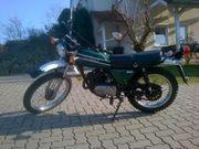 Enduro Kawasaki KE 125 Oldtimer